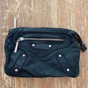 Leather Black Joy Susan hand bag